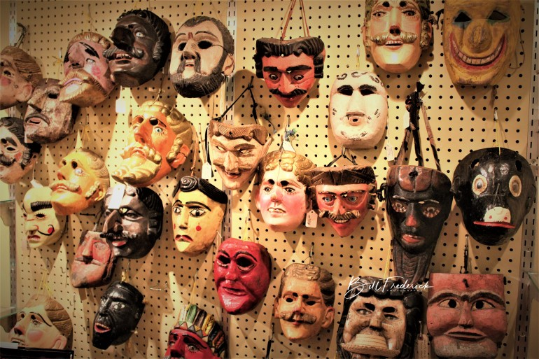 a masks with sign copy